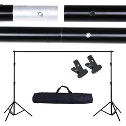 Wholesale 10Ft Adjustable Background Support Stand Photo Backdrop Crossbar Kit Photography