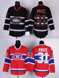2016 New, Wholesale Montreal Canadiens Mens Jerseys #31 CAREY PRICE Black Red Ice Hockey Jersey,Size M-XXXL,Mixed Orders,Accept Custom