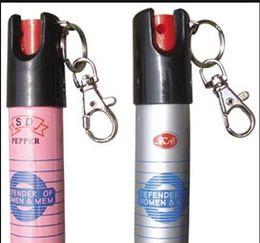 Wholesale Key chain PEPPER SPRAY SELF DEFENSE ML Self defense equipment Women s anti wolf equipment
