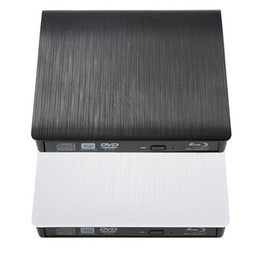 Wholesale High Quality Portable Slim USB BD ROM External Optical Drive D Blu Ray Burner Writer Player VCD CD DVD ROM Optical Bay