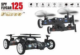 Wholesale 2016 New Hot Product FQ777 Air Ground RC Spy Flying Car G CH Axis Gyro Speed Switch RC flying car