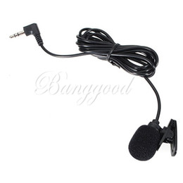 Wholesale New Fashion mm Hands Free Clip On Mini Wireless Lapel Microphone Studio For Laptop Desktop Notebook