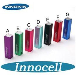 Système de commande de cellule en Ligne-100% Origianl Innocell batterie 2000mah Box Mod Vaping Système d'alimentation Innokin cellulaire Corps de contrôle Micro USB Charging DHL free