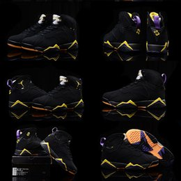 (With shoes Box) NEW 2016 Retro 7 VII Citrus Rare Olympic Hot Sale Men Shoes Free Shipping