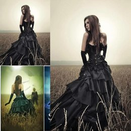 Wholesale Gorgeous chest line of restoring ancient ways plus size wedding dresses black organza dress without back of a chair of the church