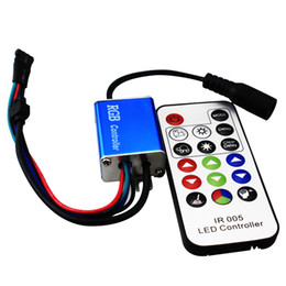 12A DC 12V-24V LED RGB controller Waterproof IP65 with IR remote control for led strip light bulb 3528 5050