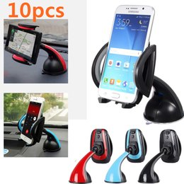 10pcs lot Universal Mobile Phone PDA Car Interior Windscreen Suction Mount Holder Cradle Stand Red   Blue   Gray(optional) CDE_30L