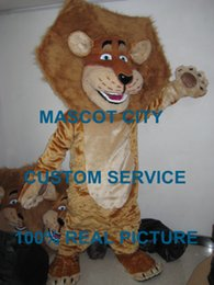 Wholesale madagascar lion mascot alex costume custom fancy costume anime cosply kit mascotte theme fancy dress carnival costume