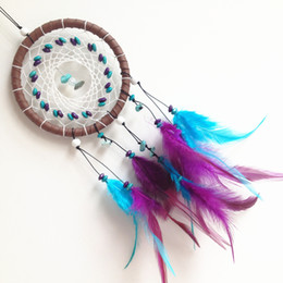 Wholesale Antique Imitation Dream Catcher Car Home Hanging With Feathers Whosale