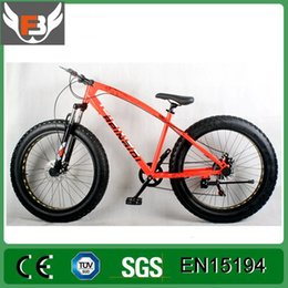 Wholesale fat bike fat tire bicycle with disc brake and suspension front fork bicycle in anhui