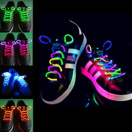 Waterproof Chaussures LED Lacets Lacets Flash Light Up Glow Stick Strap Lacets Disco Party vacances LEG_70I à partir de discothèque clignotant conduit fabricateur
