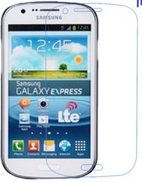 Clear Screen Protector Front LCD Protective Guard Film For Samsung Galaxy Express I8730 Free Shipping by DHL