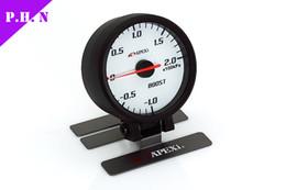 Wholesale Apexi ELII System Meters Electronic mm Boost Oil Pressure Oil Temp Water Temp Tachometer Volt Vacuum Performance Gauge BAR stock