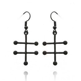 Wholesale Valentine earrings selling chemical formula new European and American popular jewelry alloy new