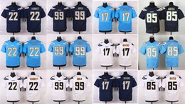Wholesale 2016 New Men s Elite Chargers Phipli Rivers Keenan Allen Joey Bosa Jason Verrett Stitched Jerseys Free Drop Shipping