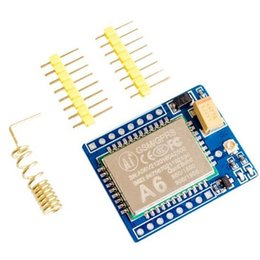 Wholesale New GSM GPRS Quad band A6 Mini Development Board SMS Audio Minimum System Board V Module