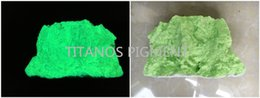 photoluminescent pigment 5-15um green appearance yellow green glowing for plastic and water based paint
