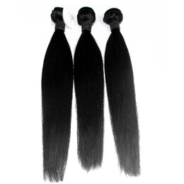 On Sale Malaysian Virgin Hair Straight Hair 3Pcs Virgin Malaysian Straight Hair Remy Human Hair Weave Bundles