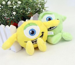 Wholesale high quality Monster University Plush Toys one small Dolls eye Monsters Cartoon Stuffed toys kids Toys Gifts