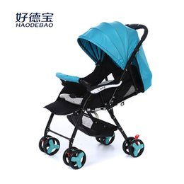Wholesale The new car baby baby bassinet Umbrella Stroller baby stroller for children years old baby trolley car car