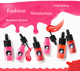 Wholesale The Republic of Korea New Pattern Lnk Lip Gloss Lip Liquid Ink Stained Dropper Bite Lips Waterproof Lipstick Do Not Fade Lipstick