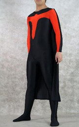 Adult Superhero Halloween Costume with Cape inspired by Nightwing Costume, Unisex,