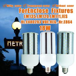Wholesale LED Corn Light Bulb W E26 E27 Lumens High efficiency Lumen Watt K Replacement For Fixtures HID HPS Metal Halide Or CFL