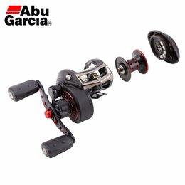 Wholesale ABU GARCIA REVO SX HS HS L LOW PROFILE Baitcasting Fishing Reel BB G Max Drag KG Mag Trax Saltwater fishing reel