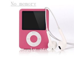Wholesale Elecmall Economic Mp3 Mp4 Player LCD Slim Portable Mp3 mp4Supported Audio Video Formats MP3 Support E book function