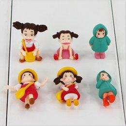 Anime Japanese My Neighbor Totoro Cute Xiaomei PVC Action Figure Collectable Model Toy for girls gift free shipping EMS