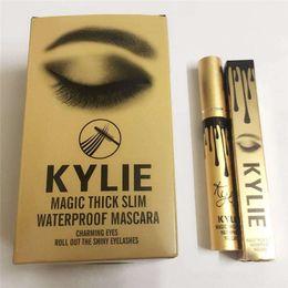 Wholesale New Kylie Mascara Magic Thick Slim Waterproof Mascara Charming Eyes Roll Out the Shiny Eyelashes