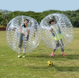 Wholesale Football inflatable body zorb ball bubble Knot balls soccer Type human bumper bubble ball human hamster ball by DHL