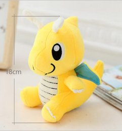 Wholesale Hot Sale cm Dragonite Poke Pocket Monsters Plush Doll Cartoon Soft Stuffed Toy Cute Pikachu Animals For Baby Kids Christmas Gifts