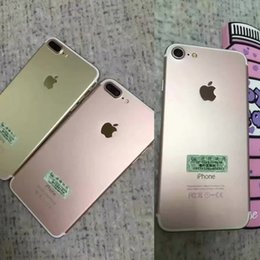 Wholesale Black Gold Silver iPhone plus With iPhone Cases quot Android System IOS Display quot G RAM G ROM With Original Box