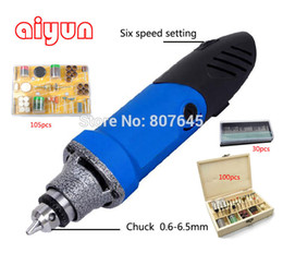 Wholesale 6 mm electric grinder die grinder mini grinder set including