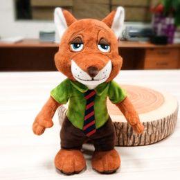 Zootopia 9 Inch Plush Toys Nick Wilde Fox Soft Doll Stuffed Animal