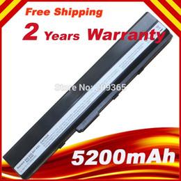 Wholesale Battery Pack For ASUS K52J K52JB K52JC K52JE K52JK K52JR K52N K52EQ K52JT K52JU K62F K62J K62JR Laptop