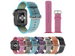 Iwatch Watch Band Sport Royal Woven Nylon Bracelet Wrist Band Strap For Apple Watch iWatch 42 38mm