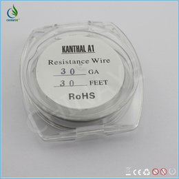 Wholesale CHINAYE stylish collections iron chrome aluminum coil fast heating coil resistant wire GA TO GA FT