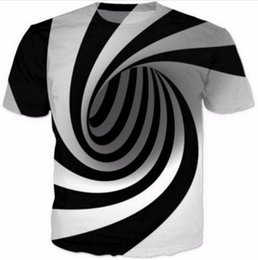 New Fashion Womens Mens Hypnosis Funny 3D Print Casual T-Shirt