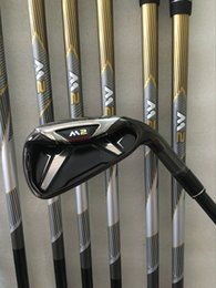 Wholesale 2016 Golf clubs M2 Irons PS Graphite shaft Regular flex M2 Golf Irons Come headcover