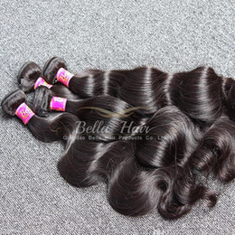 Natural Color Peruvian Hair Weave 4pcs lot Full Head Double Weft Mixed Length 10-24 inch Grade 9A Body Wave Human Hair Extensions