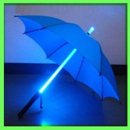 Wholesale HOT SALE Led flashing umbrella LED outdoor umbrella light umbrella novelty kids gift