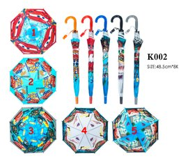 Wholesale Cool and Cute Carton Mai Kun automobile Umbrella for Boys student and Kids Mixed Style for Choice Hot sale