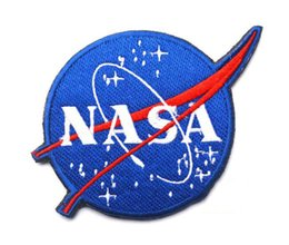 GPF-27 4.3*3.15 inch high quality 3D Embroidered Morale Pacthes US The National Aeronautics and Space Administration NASA Bbadges