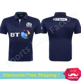Wholesale Scotland Rugby Jersey Supper Scottish Rugby Shirts Maillot de Foot New Zealand Away Maillot de Foot Rugby