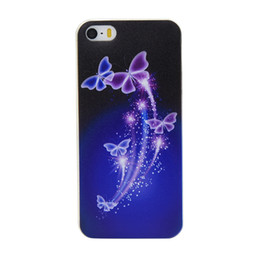 Butterfly Marble Painting Soft Cover Case for iPhone 5 5s 6 6s Custom Clear Transparent 6s plus i10 Ix Capa Covers Factory DHL Free Shipping