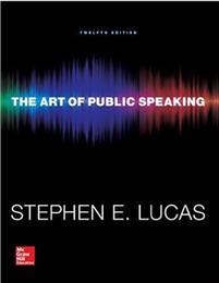2016 NEW The art of public speaking 978-0073523910 free ship