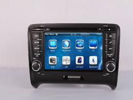 Wholesale 2 DIN Car DVD Radio Audio Multimedia Player GPS For Audi TT Retail Pc
