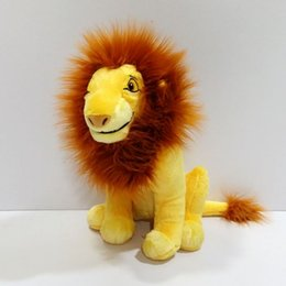 Wholesale Sitting cm inch Original Cartoon The Lion King Simba plush soft toys Adult Simba Plush toy for baby gift